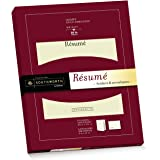 Southworth Exceptional Resume Folders/Envelopes Packet, Ivory (RF#3)
