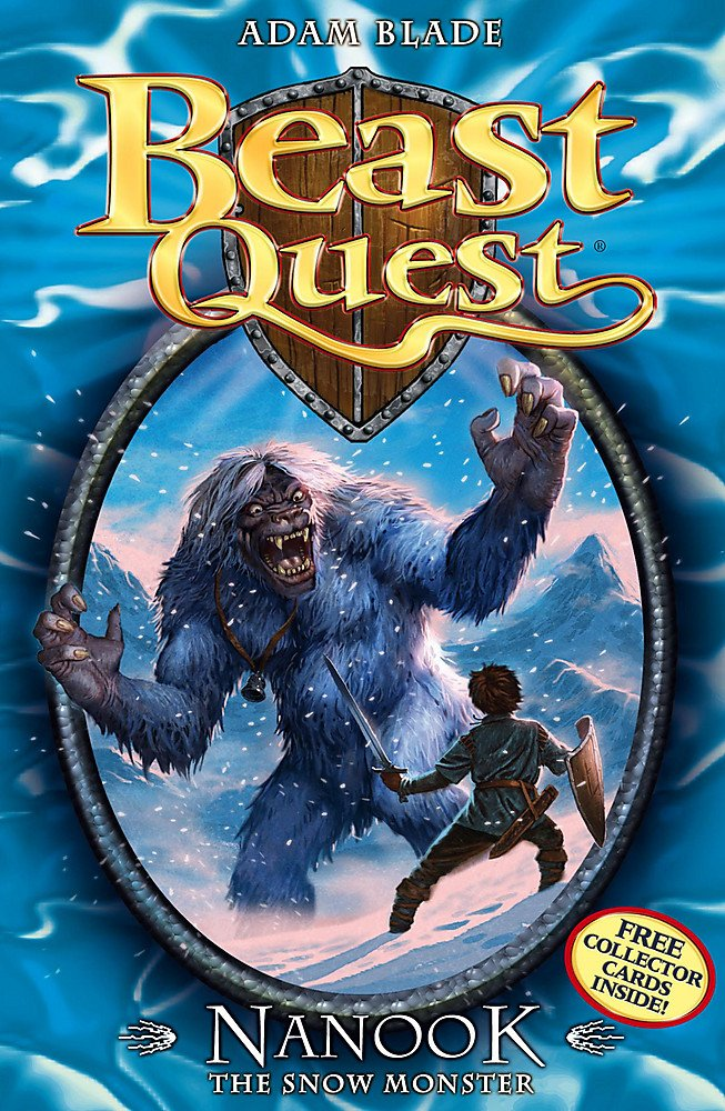 Nanook the Snow Monster: Series 1 Book 5 (Beast Quest, Band 4)