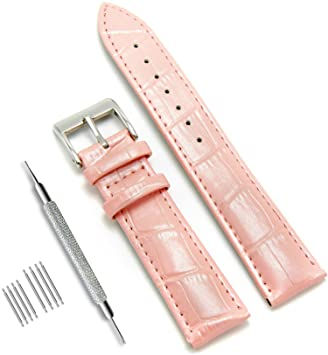 914ed1c00d7 CIVO Genuine Leather Watch Bands Top Calf Grain Leather Watch Strap 16mm  18mm 20mm 22mm 24mm Men Women  Amazon.ca  Sports   Outdoors