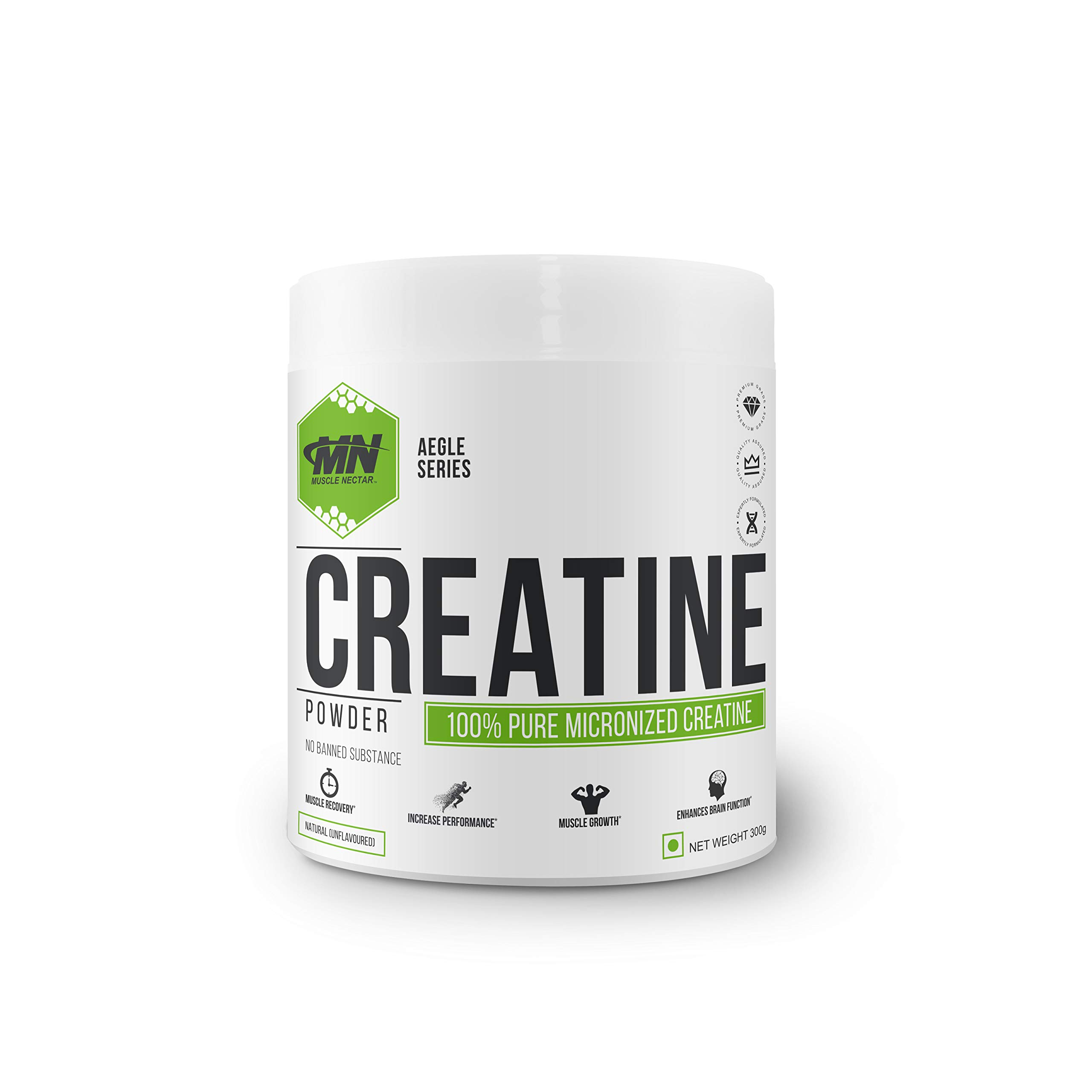 Muscle Nectar (MN) Creatine Monohydrate (300g, 100 Servings) (B07HN2SW3Q) Amazon Price History, Amazon Price Tracker