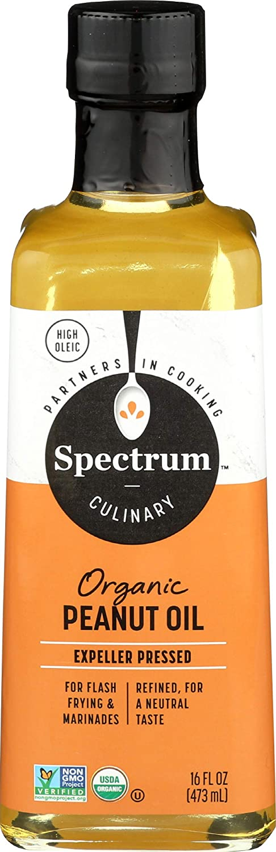 Spectrum Naturals Hi Heat Organic Peanut Oil, 16 fl oz