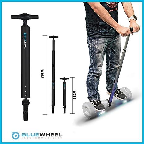 Bluewheel H60 Manillar Patinete eléctrico - Barra de 38 a 90 cm en Aluminio - Barra de Equilibrio óptima y Segura para Principiantes, manijas para ...