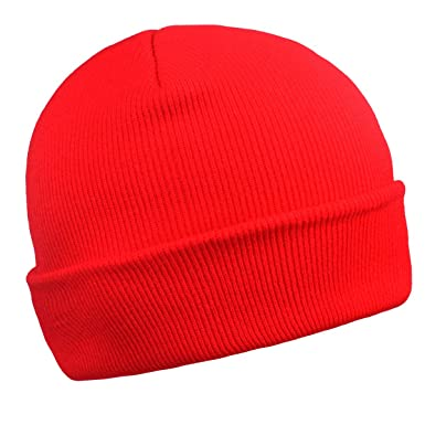 Amazon.com  Cuffed Beanie for Men Skull Knit Cap Toboggans for Women Winter  Warm Hats(Blue)  Home Audio   Theater 7a3d8ab5f68a