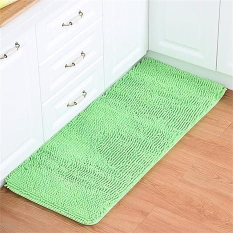 amazon com hoomy apple green microfiber floor rug modern shaggy