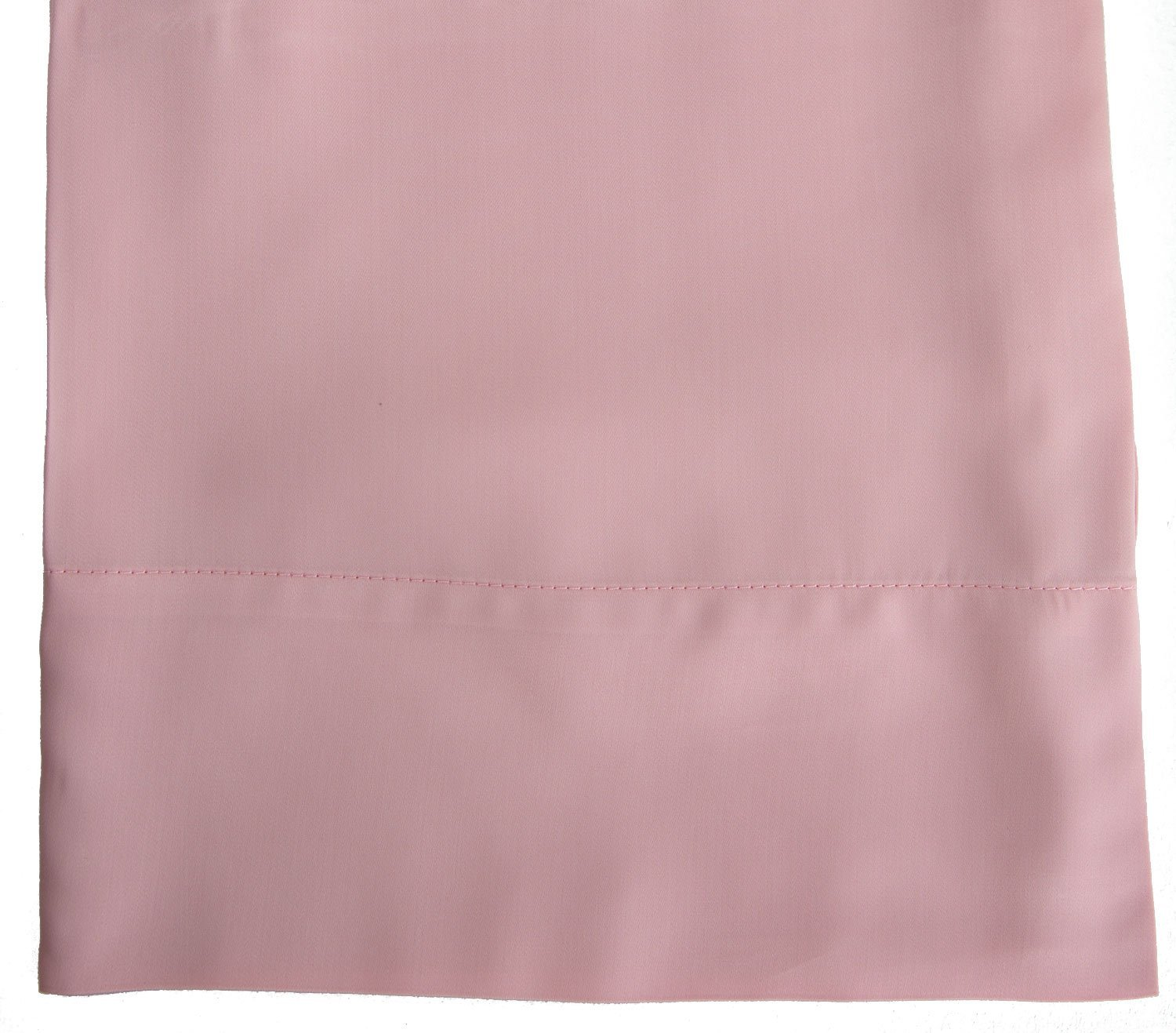 Hotel Sheets Direct 100% Bamboo Pillowcase Set 20 x 30 inch (2 Pillowcases, Rose Pink)