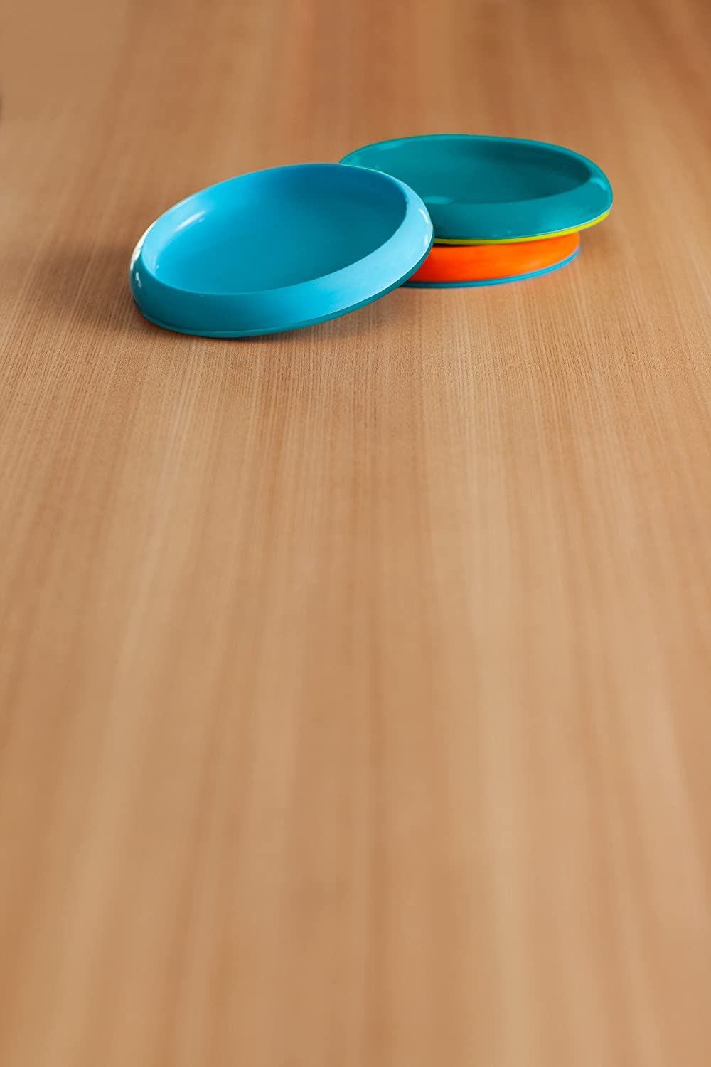 Boon PLATE Edgeless Nonskid Plate Blue//Orange//Green