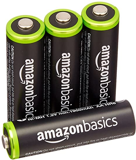 ebed9426185 Image Unavailable. Image not available for. Colour  AmazonBasics AA  Rechargeable Batteries ...
