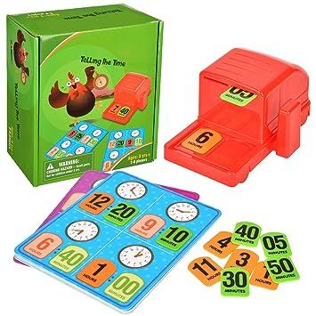 Wesimplelife Bazingo Juegos de Bingo temprano Educativo Juguete de ...