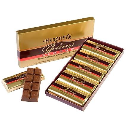 HERSHEYS GOLDEN ALMOND barra de chocolate, almendras ...