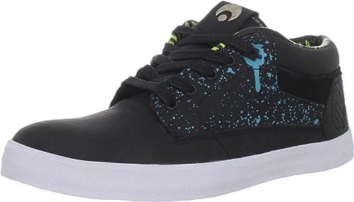 OSIRIS CHAVETA Skateboard Shoes CHARCOAL//BLACK//WHITE