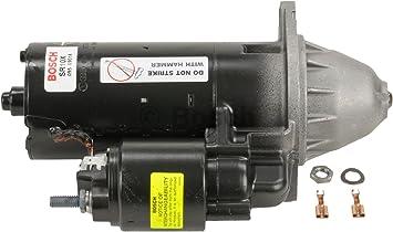 Bosch SR0492N Starter Motor Bosch Premium 100/% Remanufactured Starter