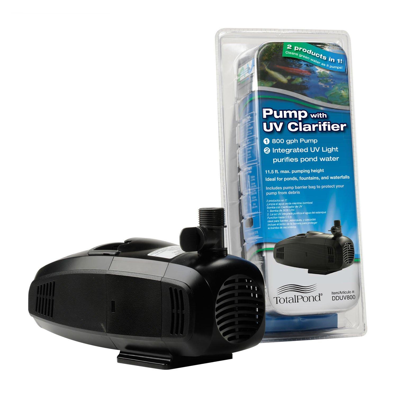 Amazoncom  TotalPond  GPH Pump With UV Clarifier  Pond Water - Amazon pond pumps
