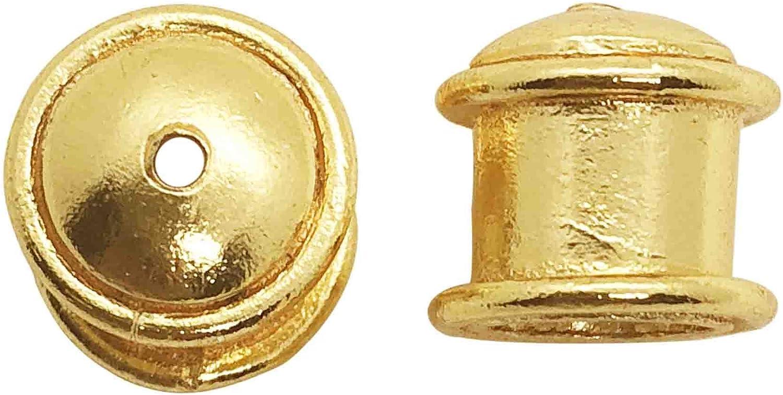 Tapa final de recubrimiento de oro de 18 quilates CG-286