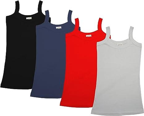 Raftaar - Camiseta de Tirantes de Mujer, atlética, de 100% algodón Peinado, para Mujer - 6/8: Amazon.es: Ropa y accesorios
