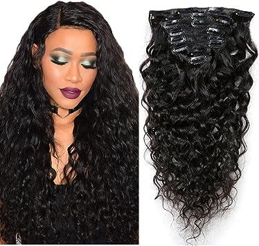 extension clip capelli veri ricci