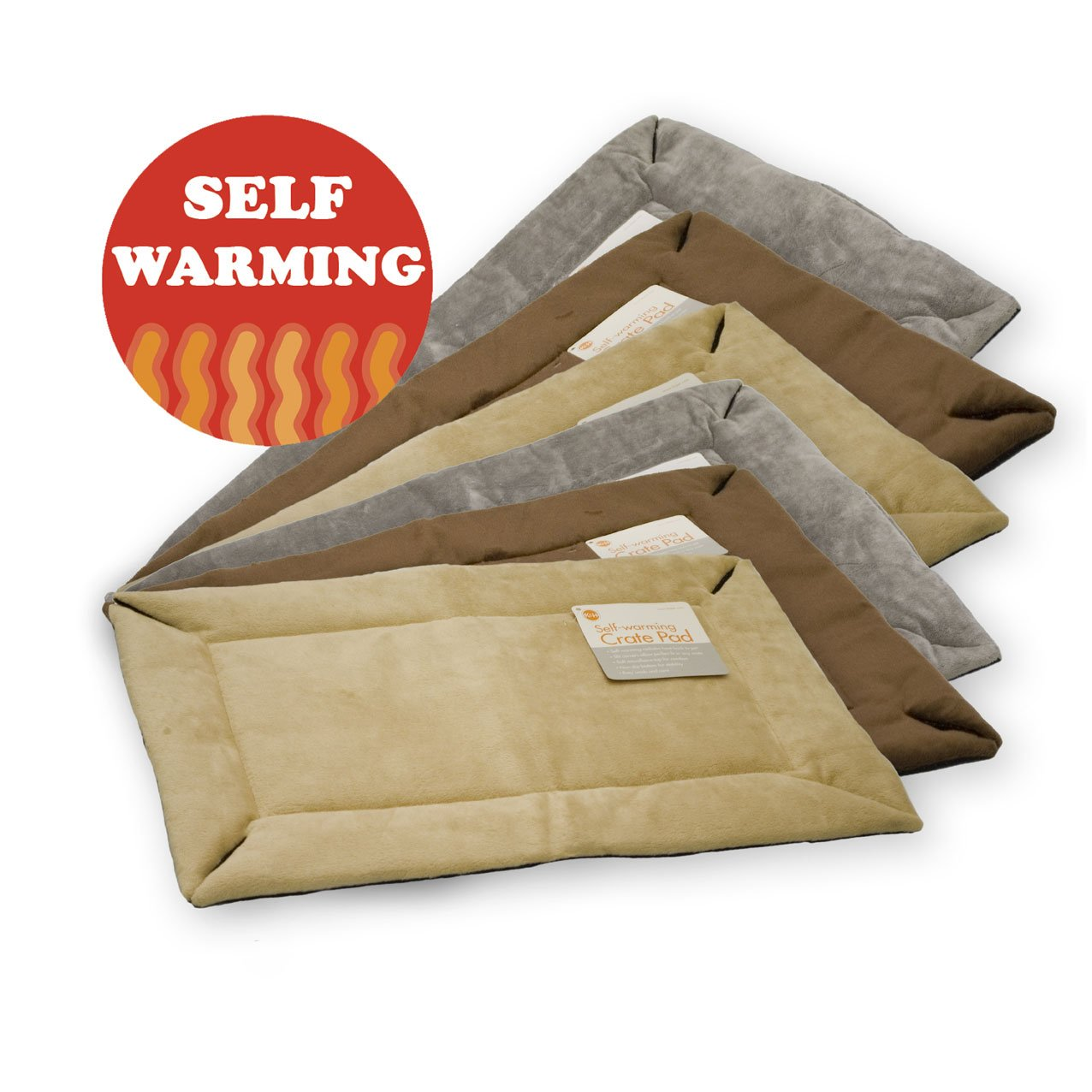 Cuccia per Cane Cuscino Auto-riscaldante per Gabbia Self-Warming Crate Pad K/&H Pet Extra Small