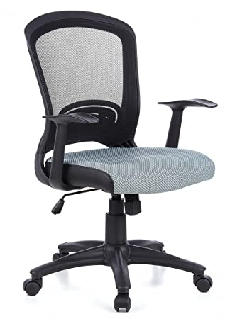 HJH Office FLYER 10 Silla de oficina Gris 44 x 58 x 108 cm: Amazon.es: Hogar