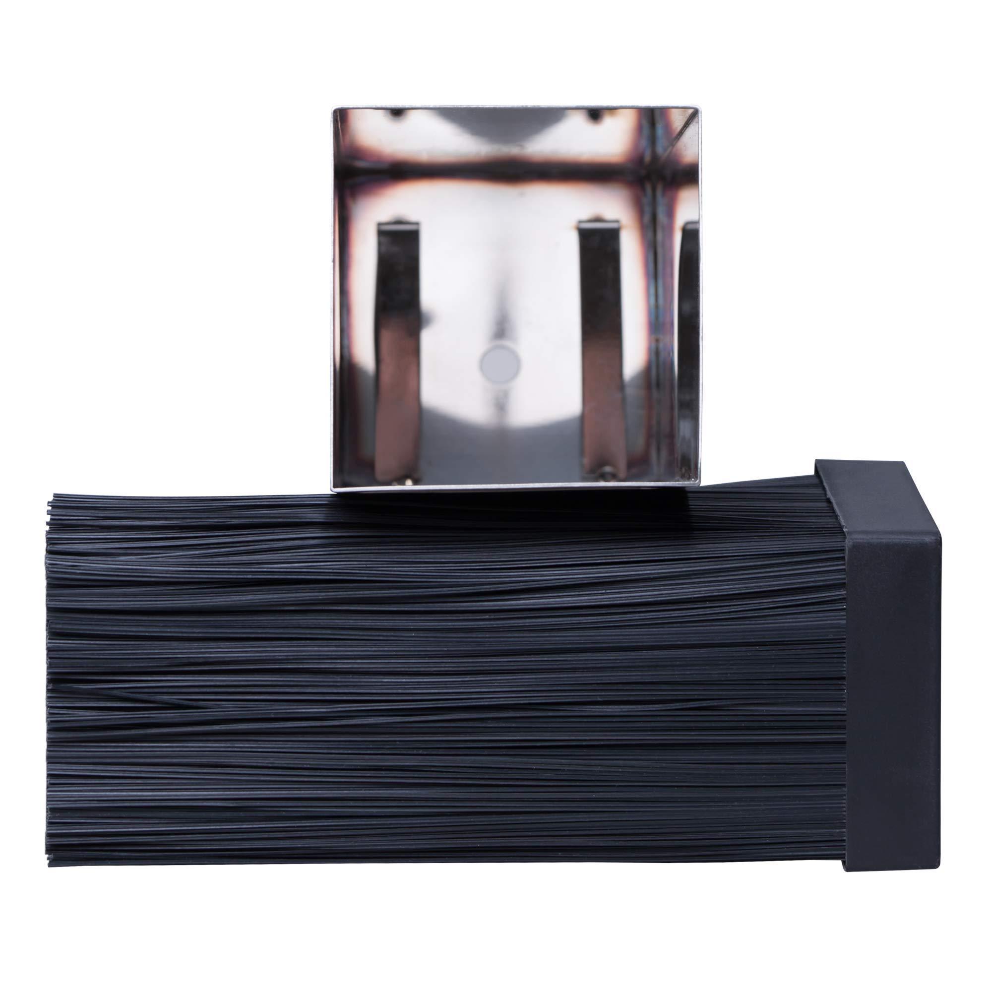 Universal Stainless Steel Knife Block Organizer – For Safe Kitchen Knife Holder Easy Clean Dishwasher Safe – Space Saver Knife Storage Stand by Leeffood (Image #8)