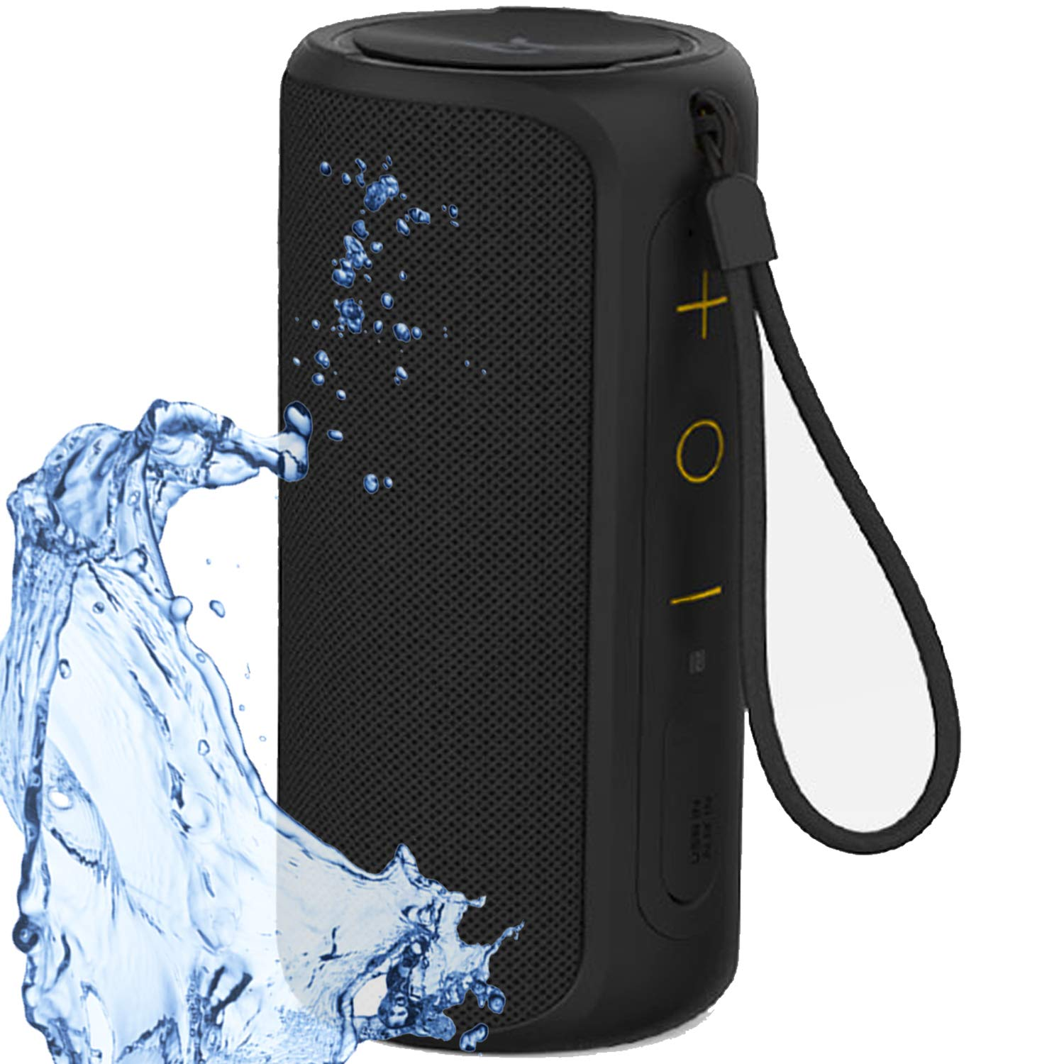 Aneerx Portable Bluetooth Speakers Ipx7 Waterproof Dustproo