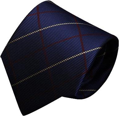 URSFUR Corbata elegante de los hombres Corbata de la boda Corbata ...