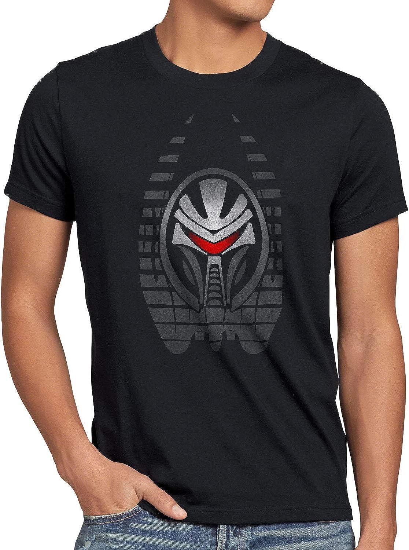 style3 Cylon Resurrección Camiseta para Hombre T-Shirt BSG Galactica