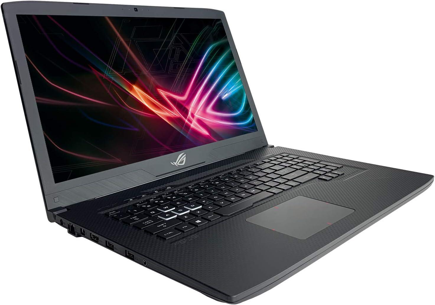 "ASUS ROG GL703GE Strix Scar Edition Gaming 17.3"" Full HD Laptop - 8th Gen i7-8750H Processor up to 4.10 GHz, 16GB Memory, 256GB SSD + 1TB HDD, 4GB NVIDIA GeForce GTX 1050Ti Graphics, Windows 10"