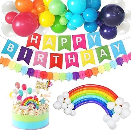 Amazon.com: G.C - Juego de decoración de cumpleaños y ...