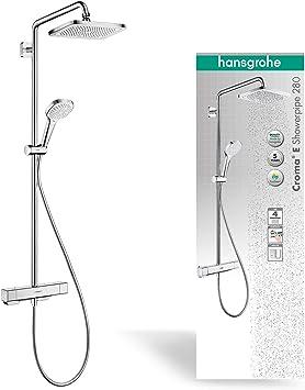 Hansgrohe 27660000 Bañeras y duchas - porcelana, Cromo: Amazon.es ...