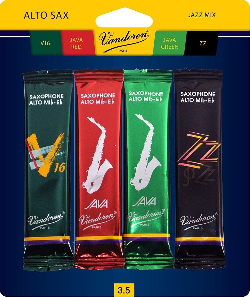 Vandoren SRMIXA25 Alto Saxophone Reed, Mix #2.5