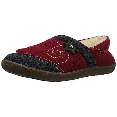 Amazon.com | ACORN Women's Boiled Wool Edelweiss Slipper Moccasin | Slippers