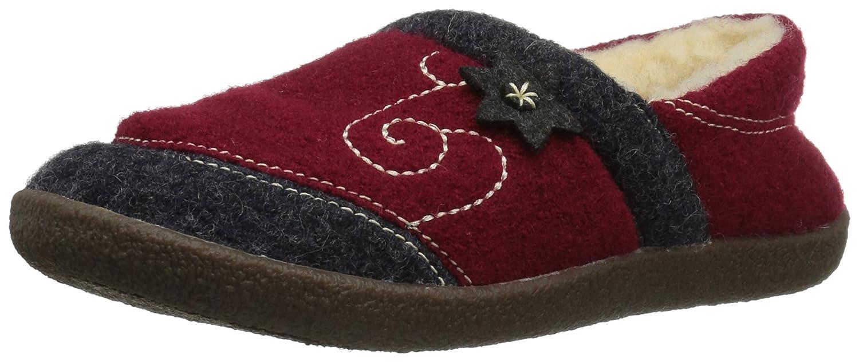 ACORN Women's Boiled Wool Edelweiss Slipper Moccasin