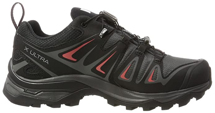 Amazon.com | Salomon X Ultra 3 GTX Hiking Shoe - Womens Magnet/Black/Mineral Red, US 6.0/UK 4.5 | Fashion Sneakers