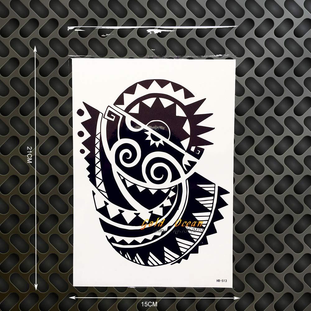 tzxdbh 2 Unids Rock Dwayne Johnson 3D Arte Corporal Grande Tatuaje ...