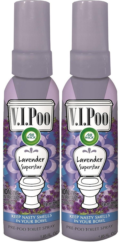 Air Wick V.I.POO Pre-Poo Toilet Spray, Lavender Superstar ...