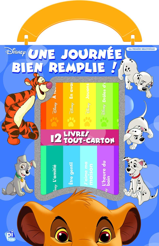 Une Journee Bien Remplie 12 Livres Tout Carton Disney