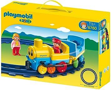 6760 Avec Construction Train Playmobil Jeu De Rails DW2IEYH9