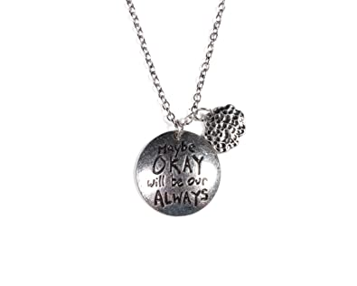 The Fault In Our Stars Merchandise : Okay Always Cloud Necklace