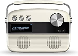 Saregama Carvaan Marathi Portable Digital Music Player (Porcelain White)