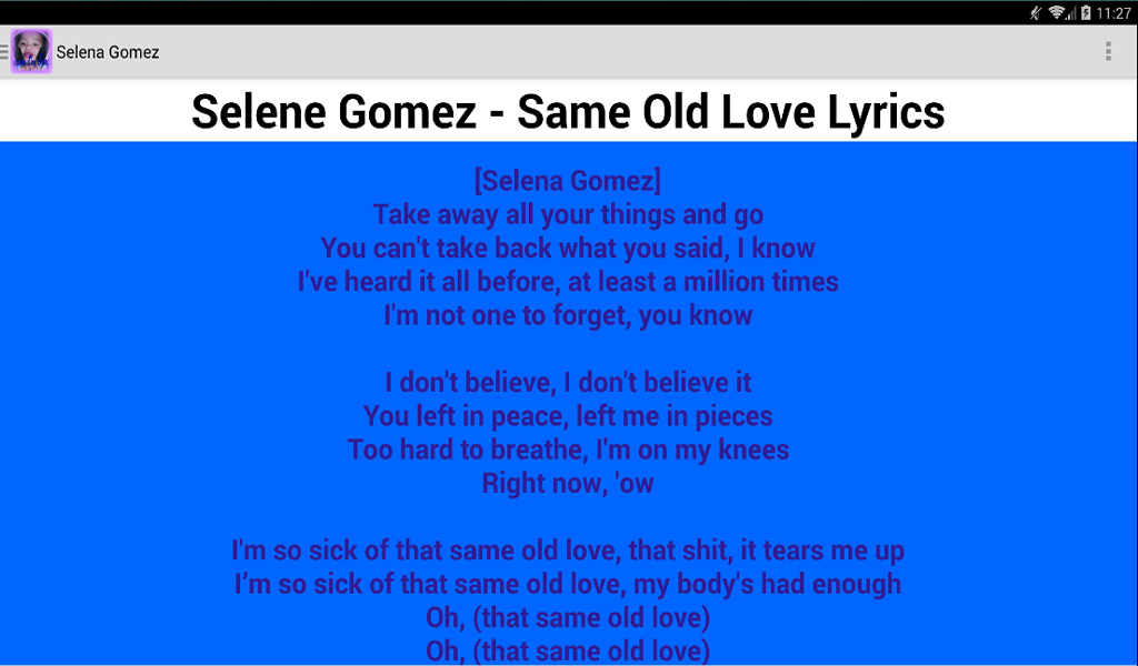 Lyric omi cheerleader lyrics : Amazon.com: Karaoke Sing Songs With Lyrics: Appstore for Android
