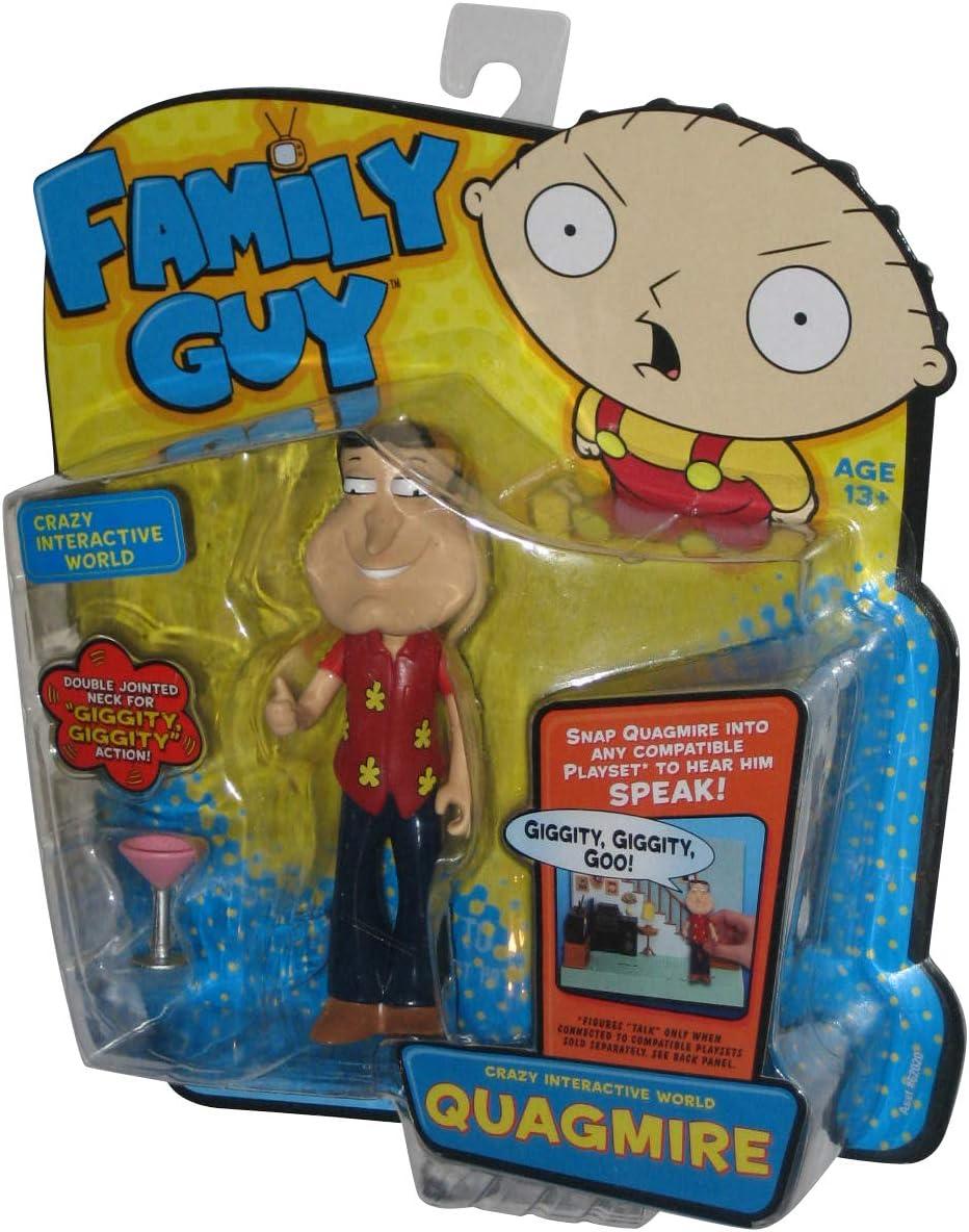 Amazon Com Family Guy Quagmire Interactive Collector Figure Toys Games