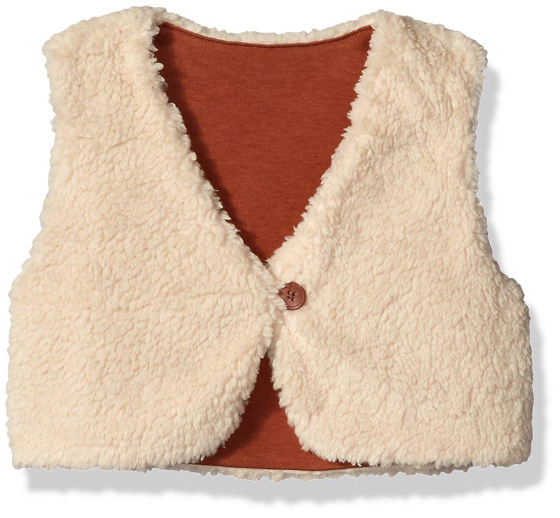 Zutano Baby Toddler Girls' Furry Vest Oat 3T Zutano Children's Apparel FVTFR00-OAT