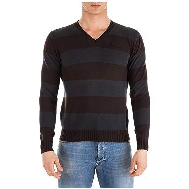 magasin en ligne 97dcc 4d292 Prada Pull Homme Marrone 46 EU: Amazon.fr: Vêtements et ...