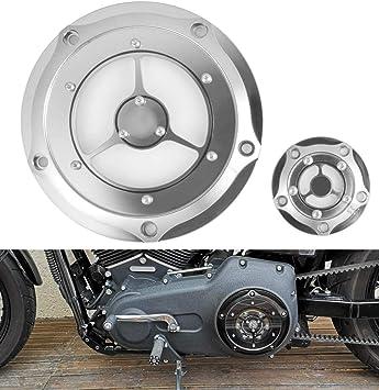 New Schwarz Bremse Kupplungshebel f/ür Harley Custom FLHR Road King Ultra und Touring