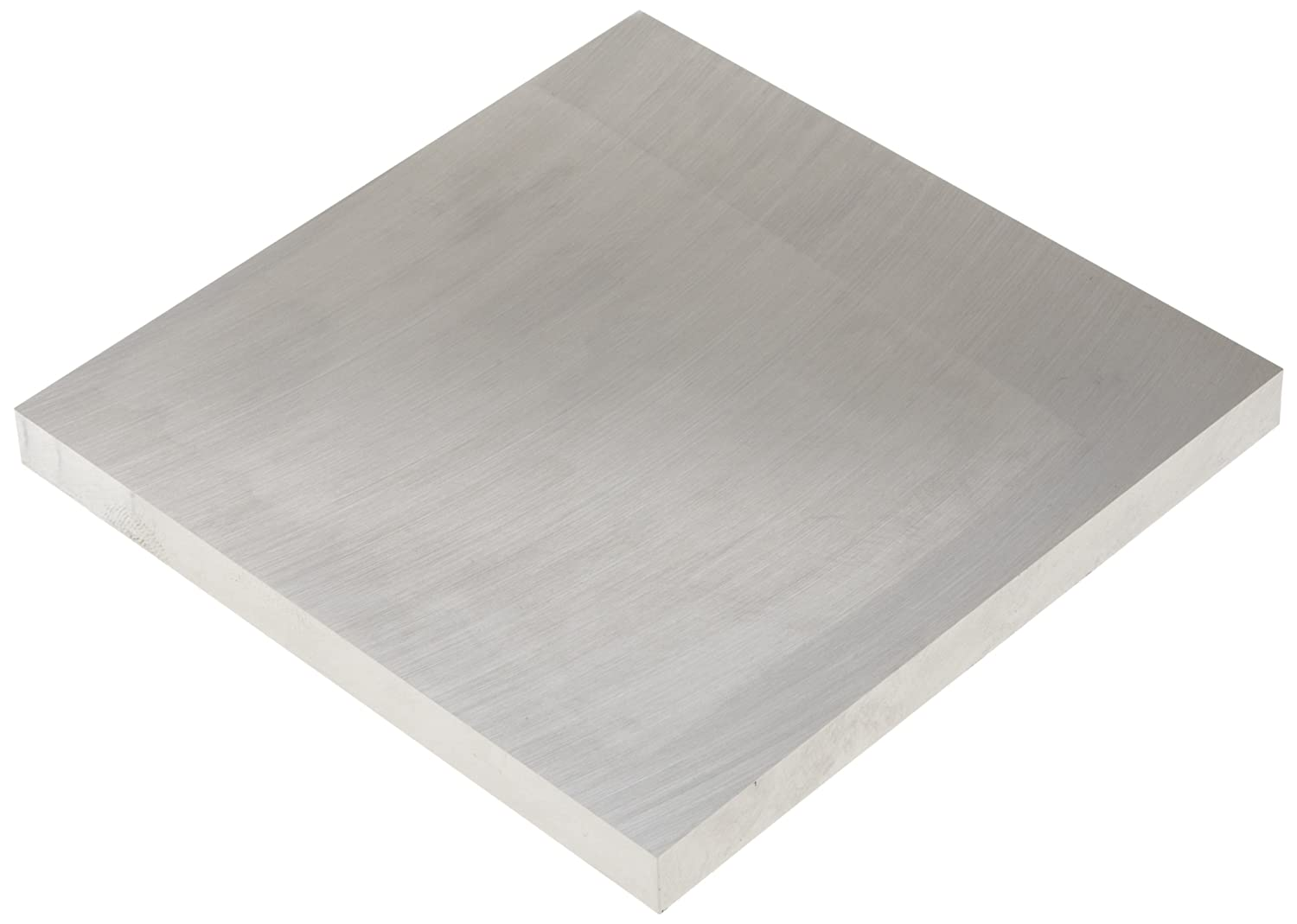 6061 Aluminum Sheet, Precision Ground, T651 Temper, Precision Tolerance, ASTM B209, 0.25' Thickness, 6' Width, 6' Length 0.25 Thickness 6 Width 6 Length Small Parts Inc SB-6061-0250-06-06