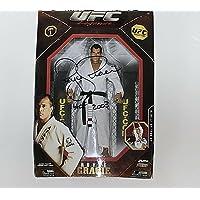 Royce Gracie Signed Jakks Pacific Ufc Legends Action Figure Exact Proof - Autographed UFC Miscellaneous Products photo