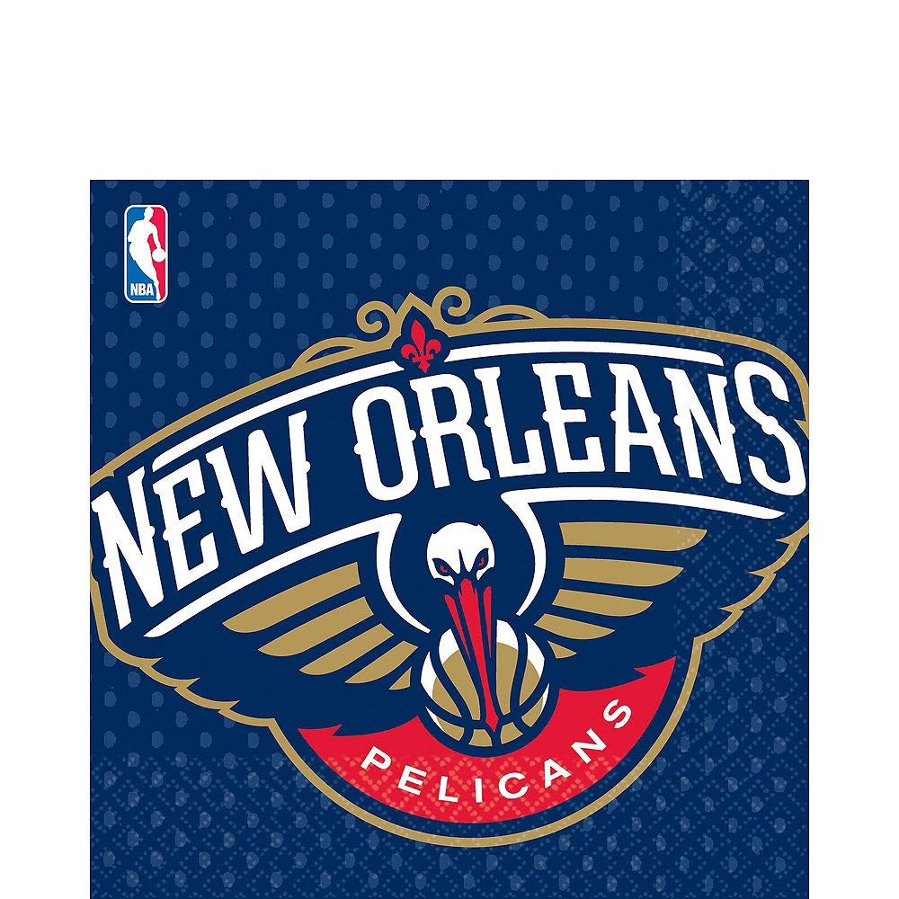 edf081cc Amazon.com: Party City New Orleans Pelicans Party Kit 16 Guests ...