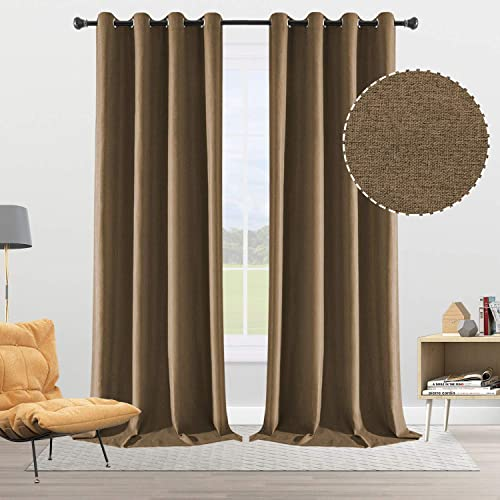 Deal of the week: ALLJOY 100 Blackout Curtains 108 Inches Extra Long