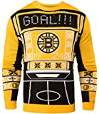 NHL Mens Ugly Light Up Crew Neck Sweater