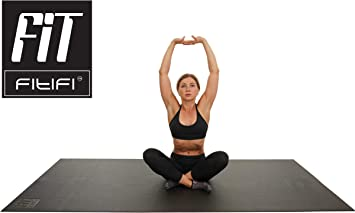 Amazon.com : Fitifi 6ft - 8ft Exercise Mats - Eco-Friendly ...