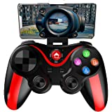 Mobile Controller for The Most Games, Mobile Gamepad Wireless Game Controller Joystick for Android/iOS/iPhone/iPad, Key…